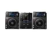 Pioneer DJ XDJ-1000 MK2 & DJM-S3 Package