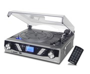 Steepletone ST930 Pro Record Player Silver