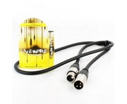 Proel Livewire XLR Male to XLR Female 1M Black