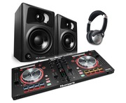 Numark Mixtrack Pro 3 + M-Audio AV32 + HF125 Headphone Package
