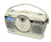 Steepletone Stirling 4 Portable Radio Cream