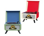 Steepletone Rico Retro Turntable with CD Player