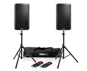 Alto TS310 (Pair) with Stands & Cables