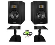 Adam Audio T5V with GSM-50 Stands & Cable