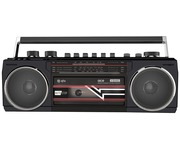 QTX Ace Retro Radio Cassette Player with Bluetooth & MP3