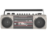 QTX Ace Retro Radio Cassette Player with Bluetooth and MP3