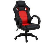 Office Chair Executive Racing Gaming Studio Bucket Seat RED