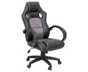 Office Chair AVC Executive Racing Gaming Sports Bucket Seat GREY