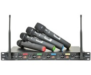 Chord QU4-H Quad UHF Wireless System