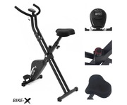 BIKE-X Exercise Bike Black/Red/Purple/Orange/Green