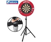 Gorilla Arrow Pro Stand with Unicorn Striker Dartboard & Darts