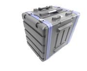 NJS 8U ABS Rack Case with Wheels