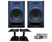 PreSonus R65 (Pair) with Desktop Monitor Stands