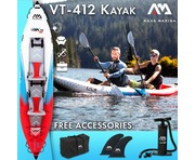 2019 Aqua Marina Betta VT-K2 2-Person Inflatable Kayak (Excl Paddle)