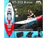 2019 Aqua Marina Betta VT-K2 Pro Single Person Kayak (Excl Paddle)