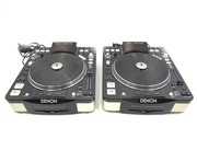 Denon DN-S3700 DJ CD MP3 Turntable Players (Pair)