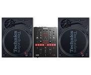 Technics SL1210 MK7 Pair & Numark Scratch Mixer