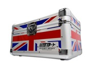 "Total Impact TIP 200 7"" Vinyl Record Carry Case UNION JACK"