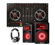 Numark NS6 MK2 with Speakers (Pair) & Headphones