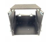 Unbranded 2u + 8U Rack Mount Case with Sliding Laptop Shelf