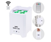 LEDJ Rapid QB1 RGBA IP (Waterproof) White