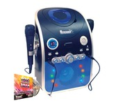Mr Entertainer CDG Karaoke Machine with Bluetooth & LED Lights