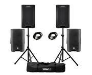 LD Systems ICOA 15A (Pair) with Covers, Stands and Cables