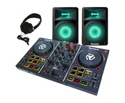 Numark Party Mix with N-Wave 580L Speakers & Headphones