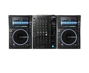 Denon DJ SC6000M Prime Media Player (Pair) + X1850 Prime Mixer