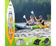 2019 Aqua Marina Betta HM-K0 2-Person Inflatable Kayak Inc Paddle