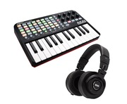 Akai Professional APC Key 25 and RANE RH-2 Bundle