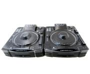 Denon DJ SC2900 CD Players (Pair) inc Decksavers