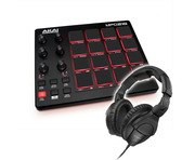 Akai Professional MPD218 with Sennheiser HD 280 PRO Bundle