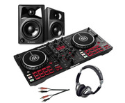 Numark Mixtrack Pro FX with M-Audio AV32 Monitors, Headphones & Cable