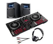 Numark Mixtrack Pro FX with N-Wave 360 Monitors & Headphones