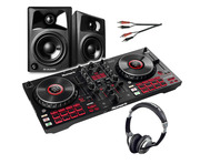 Numark Mixtrack Platinum FX with Monitors & Headphones & Lead