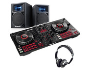 Numark Mixtrack Platinum FX with N-Wave 360 Monitors & Headphones