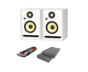 KRK RP5 G4 with Isolation Pads + Cable