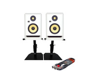 KRK Rokit RP5 G4 + Monitor Stands + Cable