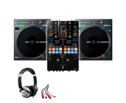 Rane TWELVE MKII (x2) + Pioneer DJM-S11 with Headphones + Cable