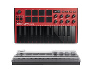 Akai MPK Mini 3 Red with Decksaver