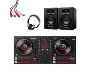 Numark Mixtrack Platinum FX + M-Audio BX3 (Pair) with Headphones + Lead