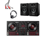 Numark Mixtrack Platinum FX + M-Audio BX4 (Pair) with Headphones + Cable