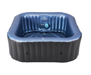 2021 MSpa Tekapo 6 Person Square Spa Hot Tub C-TE061