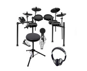 Alesis Nitro Mesh Kit with Expansion Pack, Stool & Headphones