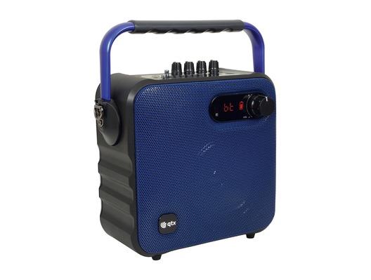 QTX QX05PA Portable Party Bluetooth Speaker Blue