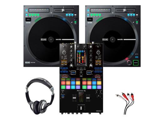 RANE TWELVE MKII (x2) + Pioneer DJM-S11 with Headphones + Cable
