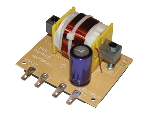 Passive 4 ohms Subwoofer Filters 600W