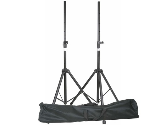 QTX Speaker Tripod Stands with Bag