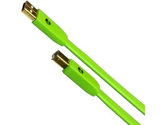 Oyaide NEO d+ USB Class B Green 2.0M